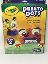 Crayola Model Magic Presto Dots CREATURES Kit Made In USA NEW