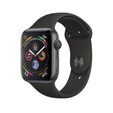Nuovo Apple Watch Series 4 44mm Cassa in alluminio grigio con cinturino nero