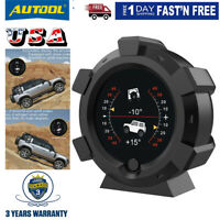 Car GPS 4x4 Inclinometer Slope Meter Indicator Compass Pitch Tilt Angle Off-road