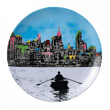 Royal Doulton Street Art Plate - The Morning After New York by Nick Walker