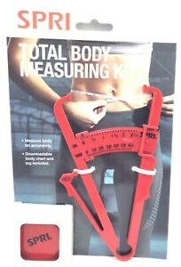 SPRI Total Body Measuring Kit With Downloadable Chart & Log - Track Your Weight