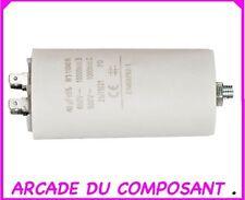 1 CONDO CONDENSATEUR PERMANENT POUR  DEMARRAGE MOTEUR 450V 40MF (ref 42-5117)