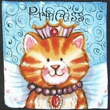60 Precious CATS Pastel CAT Quilt Block Squares Fabric