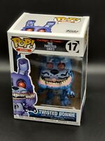 Twisted Bonnie Five Nights at Freddy's Twisted Ones Funko Pop 17 *Free Protector