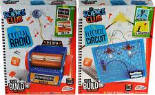 Conjunto de 2 kits de ciencia-Construye Tu Propio Cristal Radio/circuito eléctrico