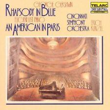 Gershwin: Rapsodia In Blue, Un Americano A Parigi / Kunzel, List, Cincinnati- CD