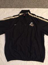 Nike Purdue University NCAA Full Zip Windbreaker Style Jacket Men's Size XL
