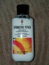 B 00006000 ath & Body Works Sparkling Peach Sangria Body Lotion 8 Oz!