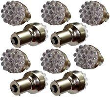 10x ampoule P21W R5W R10W 12V 19LED blanc effet xénon base 1156