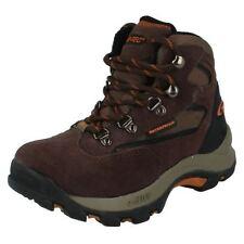 Chaussures marrons en cuir pour garçon de 2 à 16 ans, pointure 37