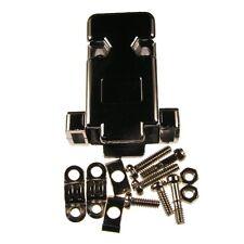 D-Sub-Hauben 9-polig GP09VM Vollmetall SUB-D-Kappen Metall UNC 4-40 087321