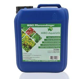 (2,98 €/L) MIBO Pflanzendünger Aquarium Dünger Pflanzenpflege 5.000ml Kanister