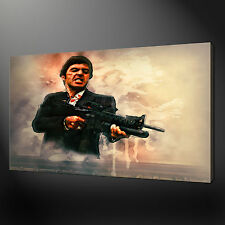 TONY MONTANA SCARFACE CANVAS PRINT PICTURE WALL ART FREE UK DELIVERY