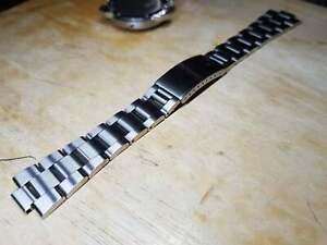 Solid Bracelet Strap For Omega Geneve ,Dynamic Stainless Steel De Ville 10mm