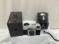 Job Lot Ensign Ful-Vue, Brownie No 2, Kodak Instamatic