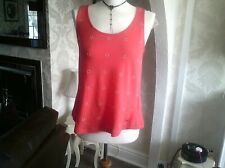 Ladies T Shirt New Size Small small button on back broken hence low price