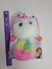 Skyrocket Pomsies Unicorn Pony Luna Walmart Exclusive White w/ Rainbow Tail