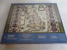 United Kingdom Heptarchy Map Jigsaw 1000 7 Saxon Kingdoms England Britain New