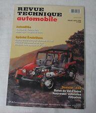 Revue technique automobile RTA 619 1999 evolution Nissan patrol peugeot 205 D