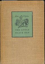 THE LITTLE BLACK HEN EILEEN O'FAOLAIN AN IRISH FAIRY TALE STORY Vtg 1940 First