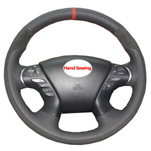 DIY Car Steering Wheel Cover For Nissan Murano 2015 - 2020 Pathfinder 2013 -2020