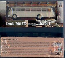 Brekina 58250: Skoda 706 RTO - Jelcz 043, Bus, beige