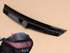 Black Fairing Air Flow Vent Accent Trim for Harley Touring Road Glide 2015-2018