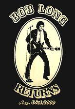 BOB LONG Returns lrg T shirt 2000 rockabilly Gibson CS-336 rock Michigan Ohio