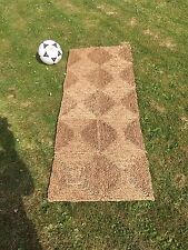 SISAL NATURAL SEA GRASS RUG MAT approx 60 x 150 cm  (2 x 5')