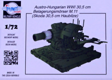 Planet Models 1/72 Resin Kit V121 30,5 cm Belagerungsmörser M.11 Skoda 30,5cm