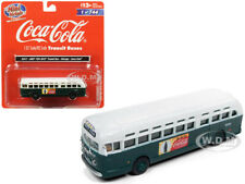 "GMC TDH-3610 TRANSIT BUS (CHICAGO) ""COCA COLA"" 1/87 HO CLASSIC METAL WORKS 32317"