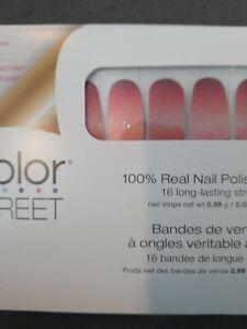 Nail Polish Strips  Authentic NIB Color Street Buy 2+ get free sample FLASH SALE