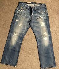 PAdriano Goldschmied  Men's Slim Straight Leg  Denim Jeans Size 34 USA