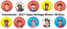 Carte collezionabili baseball Heritage stagione 2017
