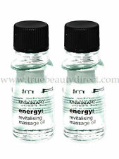2 x RIVER ISLAND ENERGY REVITALISING MASSAGE OIL SEE MORE BARGAINS IN OUR SHOP