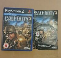 Call of Duty 3 Playstation 2 PS2 PAL + Free UK Delivery