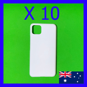 10 x Blank 3D Sublimation Google Pixel Hard Cases / Covers