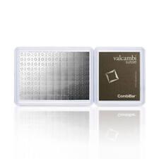 Valcambi 100x 1 gram Silver CombiBar™ with Assay Card (3.215 oz)