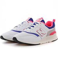 New Balance 997H CM997HAJ White, Pink & Blue Men's Shoes Size 8.5 New
