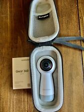 Samsung Gear 360 (2017) Spherical Camera - White With Case
