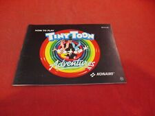 Tiny Toon Nintendo NES Instruction Manual Booklet ONLY