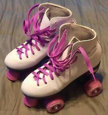 Epic Skates Princess Quad Roller White/Purple Youth Size 3