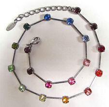 Runde Modeschmuck-Halsketten & -Anhänger aus gemischten Metallen