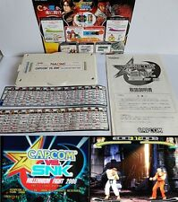 CAPCOM VS. SNK MILLENNIUM FIGHT 2000 NAOMI System Cartridge and Inst Card-B-