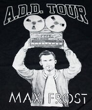 Rare Max Frost ADD Tour Mens Graphic T-Shirt M