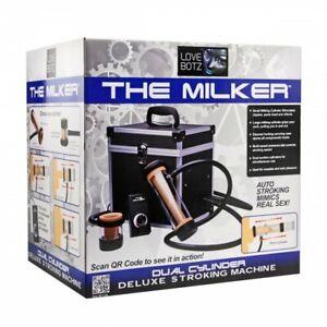 LoveBotz The Milker Automatic Deluxe Stroker Machine Penis