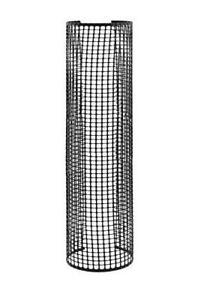 "Rigid Plastic Mesh Tree Bark Guard Protector (48"" Tall x 4"" Diameter (5 Pack))"