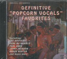 DEFINITIVE POPCORN VOCALS FAVORITES - CD - Original Recordings - BRAND NEW