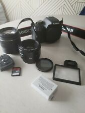 Canon EOS Rebel T2i / EOS 550D Digital SLR Camera with 2  Lens 18-55, EF 50mm