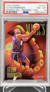 1994 Hoops Magic's All-Rookies Foil Glenn Robinson #FAR1 RC PSA 8 NM-MT RARE